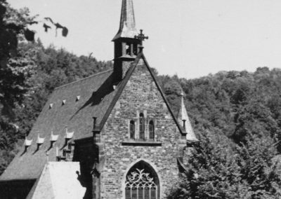 Die Herz-Jesu-Kirche um 1902