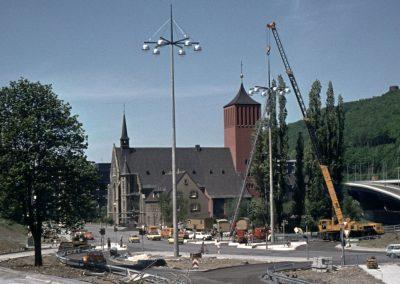Bau der Volmestraße, 1974