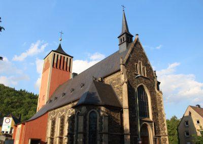 Herz Jesu Kirche, Ansicht von der Eilper Str.