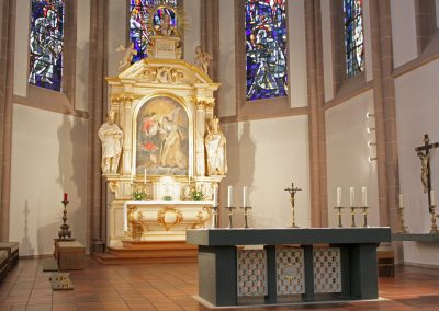 St. Marien Kirche Altar
