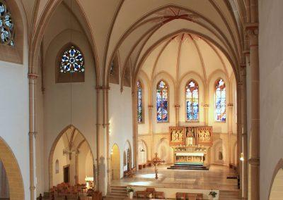 St Josef Kirche Innenansicht 2