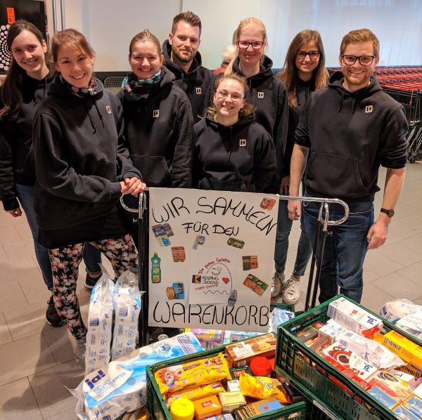 """Aktion zu Halloween: Die """"guten Geister"""" sammeln für den Hagener Warenkorb"""