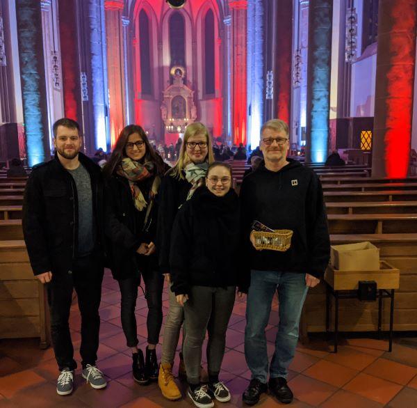 Unterstützung Nightfever in St. Marien