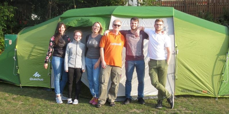 Kolpingjugend: Zelten am Biggesee