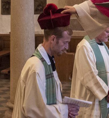Als Pfarrer die christliche Botschaft weitertragen